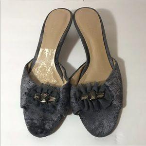 Vera Wang Graphite Heels Size 7.5